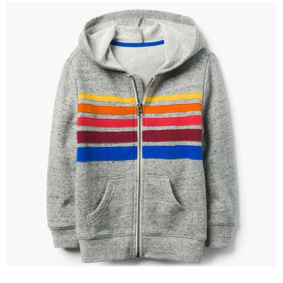 17594060125 Gymboree Rainbow 🌈 Zip-up Hoodie - NEW